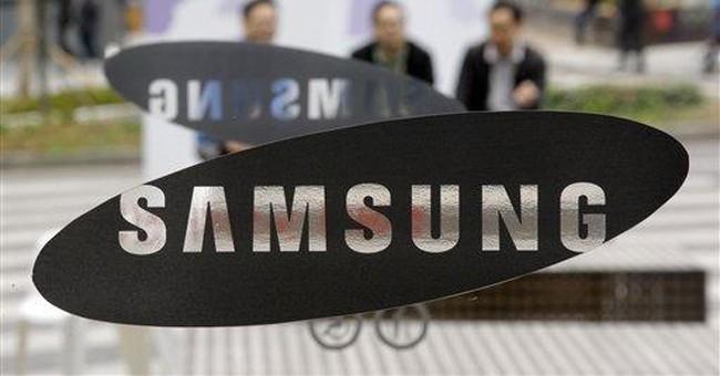 Samsung 1Q profit falls 30 percent on chips, TVs
