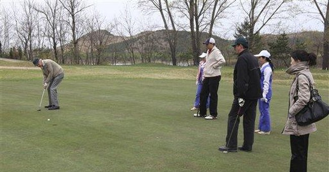 Amateur golfers from 7 nations tee off in NKorea