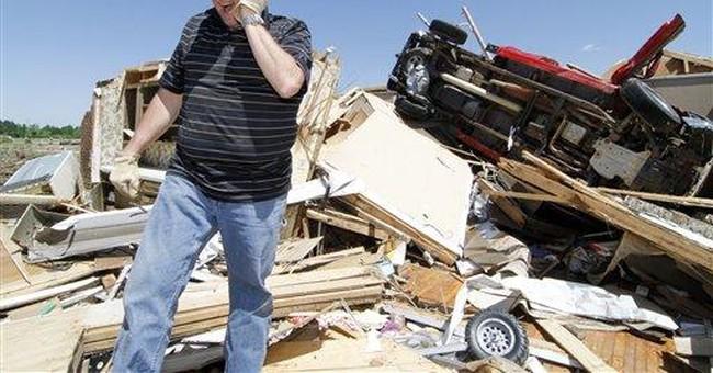 Tornado survivors had minutes to seek refuge