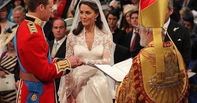 William, Kate write prayer for royal wedding