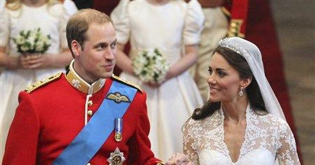 Kate channels Cinderella in Sarah Burton dress