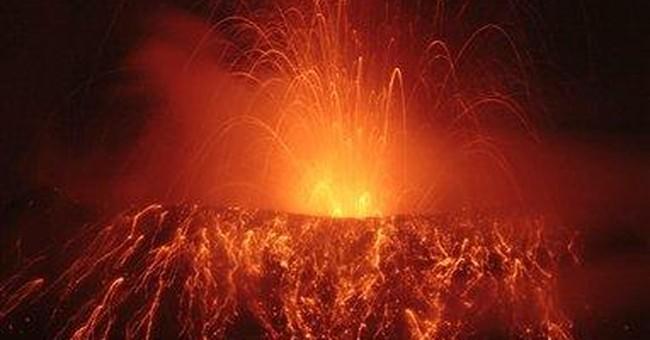 300 flee as Ecuador volcano hurls out huge rocks