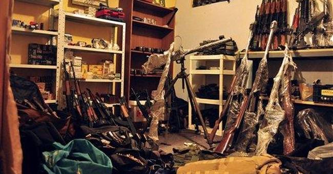 Police discover hidden arsenal in Ciudad Juarez