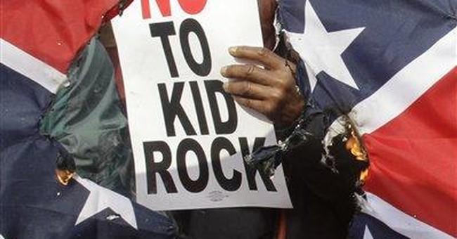Kid Rock accepts NAACP award in Detroit