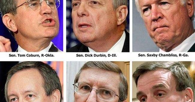 Group of 6 senators hones plan to cut US deficits