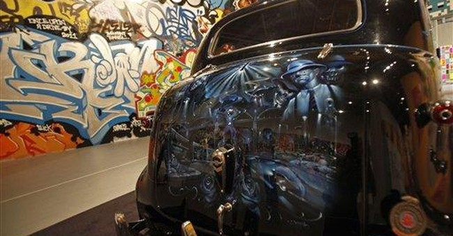 Street art exhibition prompts praise and concern
