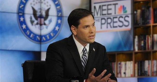 Sen. Rubio says no way he'll be on GOP 2012 ticket