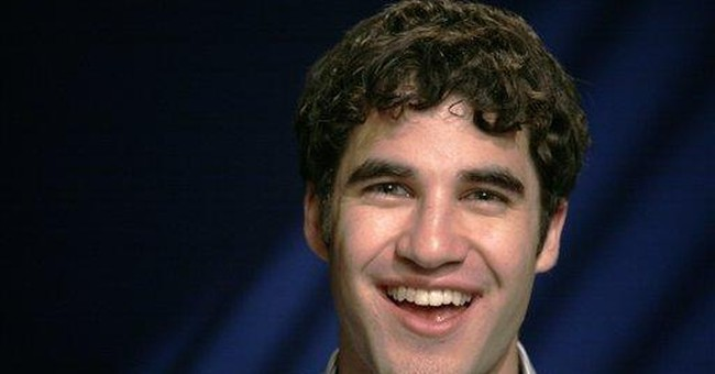 Criss goes from guest on 'Glee' to heartthrob