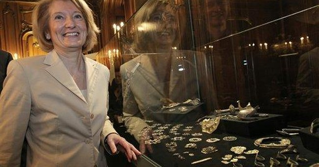 Officials: Unearthed treasure includes royal bling