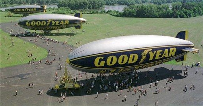 Goodyear plans replacements for its 3-blimp fleet