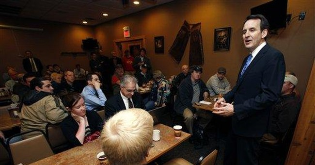 AP Interview: Pawlenty vows one-on-one Iowa focus