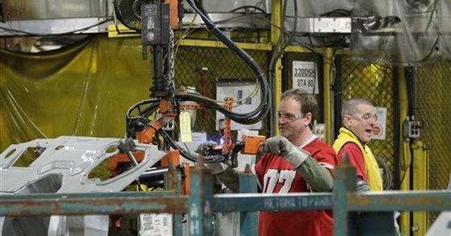 Businesses ordered more factory goods in March