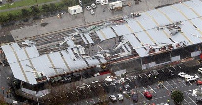New Zealand's largest city hit by tornado