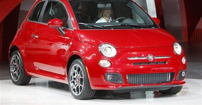 Fiat back in US with economical 500