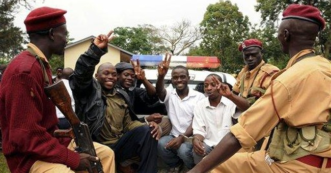 Uganda lawyers protest over political violence