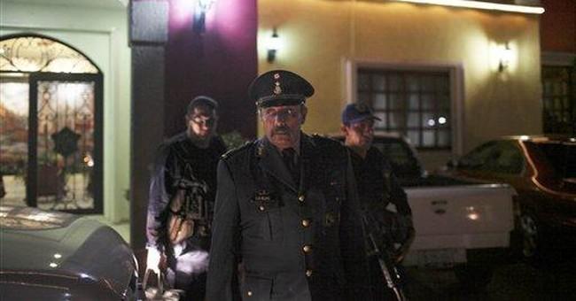 Pancho Villa relative is Mexico's newest tough cop