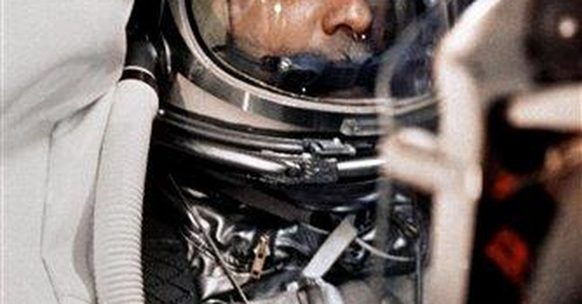 1st American in space honored on 50th anniversary