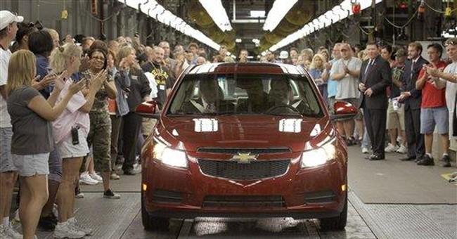 GM Cruzes to first-quarter profit of $3.2B