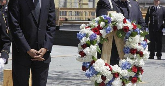 Obama closes the circle with visit to ground zero