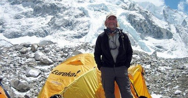 Wife: Calif. man who died on Everest led full life