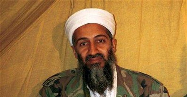 Videos show bin Laden watching himself on TV