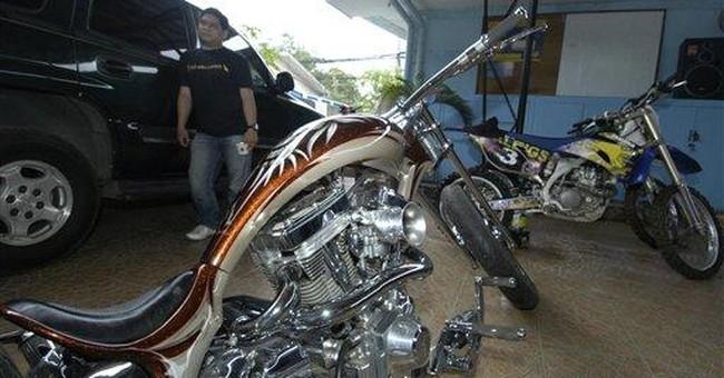 $80K motorbike stolen in US found in Philippines