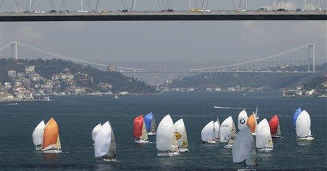 Turkey foresees fewer ships on Bosporus Strait