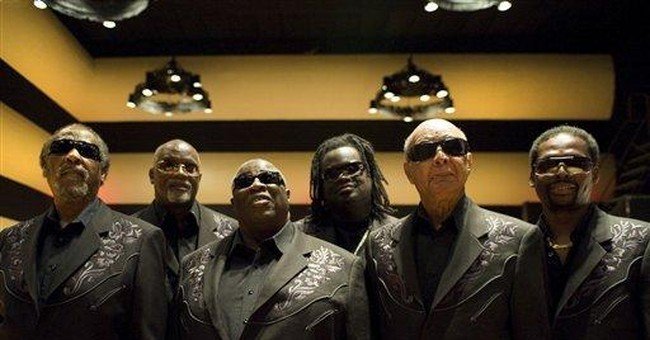 Blind Boys of Alabama join forces with Johnson