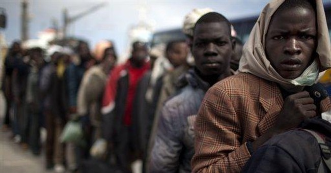 Migrants risk lives to reach, escape Libya