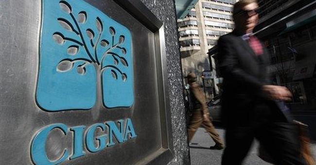 Insurer Cigna's 1Q profit soars 52 percent
