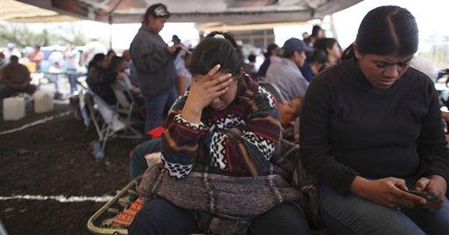 Hopes fade for 9 trapped miners in northern Mexico