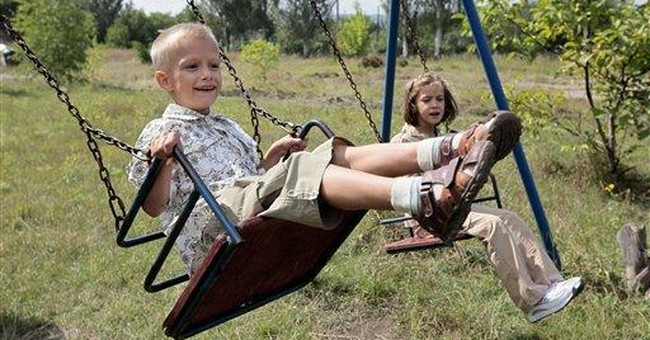 Single adoptive mom counts herself lucky