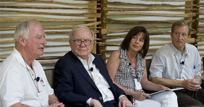 Billionaires gather in Arizona to discuss giving