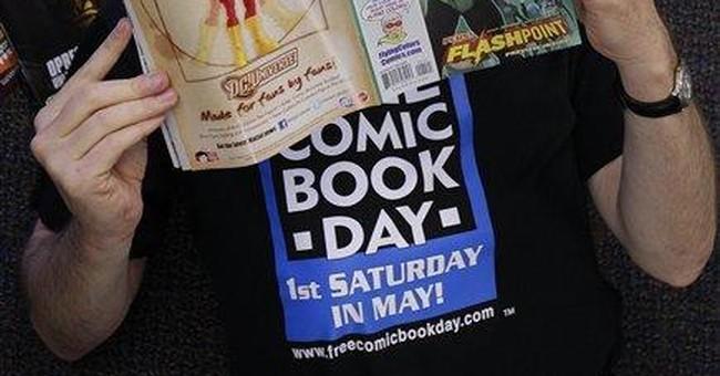 Across US, worldwide, free comics for readers