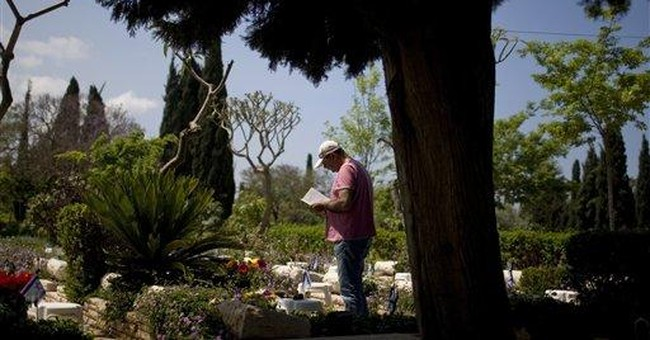 Israel remembers fallen soldiers, attack victims