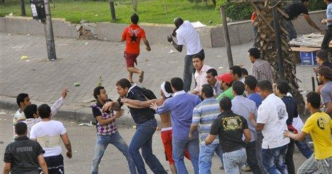 Church burning deepens tumult of Egypt transition