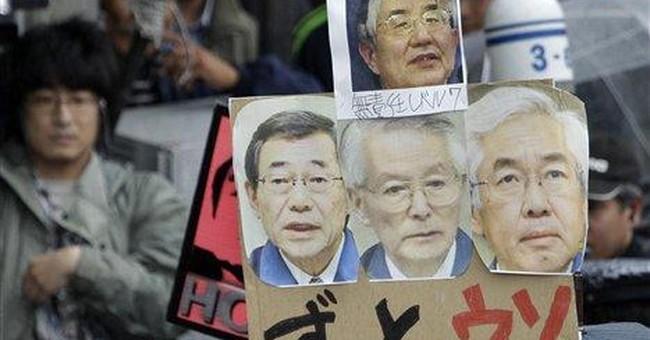 Official: Japan won't abandon nukes despite crisis