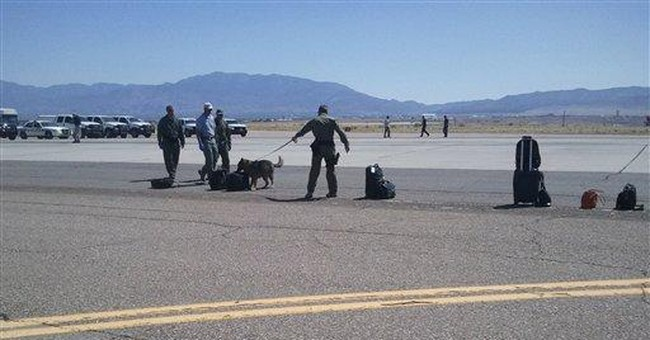 Delta flight cleared after 'security threat' in NM