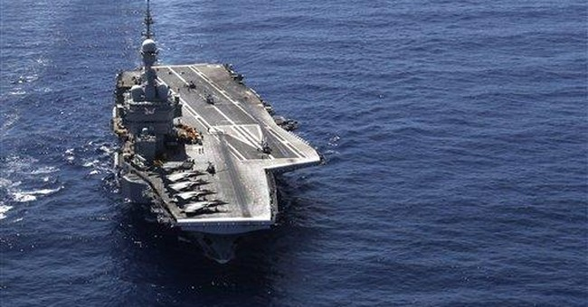 Aircraft carriers gain clout in naval power