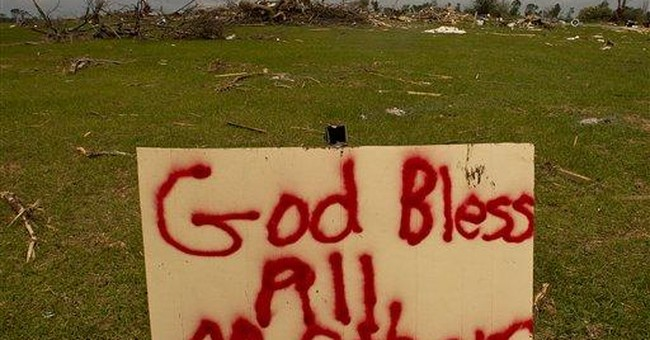 Tuscaloosa mayor says faith helped after tornado