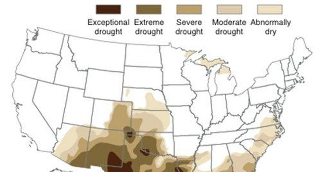 Drought descends on Texas, surrounding states
