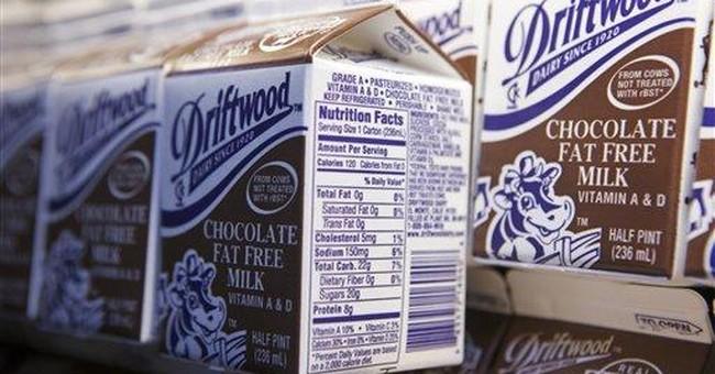 Schools may ban chocolate milk over added sugar