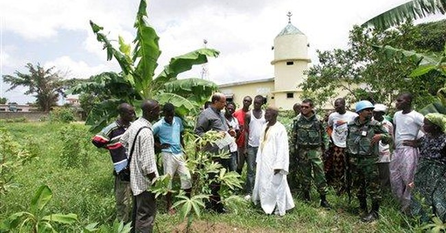 UN: 68 bodies found in soccer field in Ivory Coast