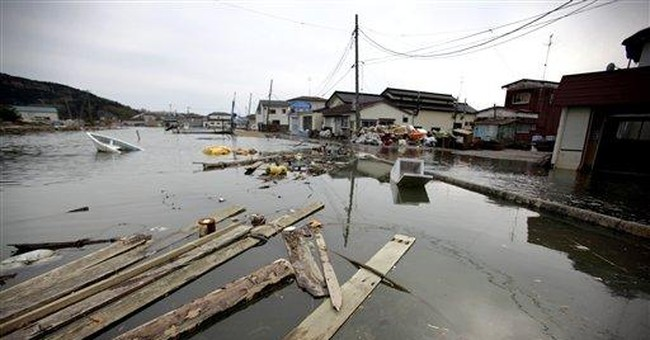 Quake shifted Japan; towns now flood at high tide