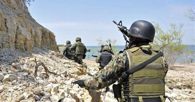 13 killed in lake gunbattle in northern Mexico