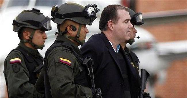 Questions accompany drug suspect back to Venezuela