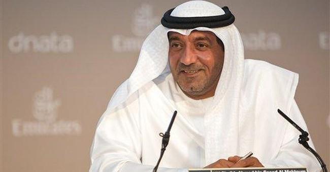 Emirates group reports 43 percent profit rise