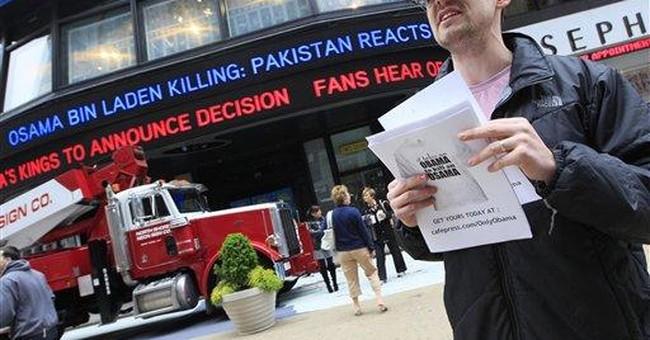 Demand for bin Laden memorabilia tapers off fast