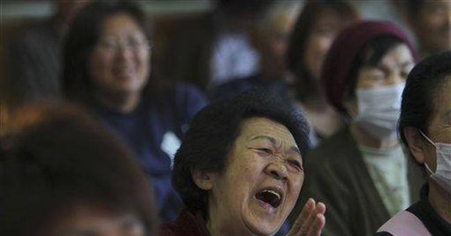 Storyteller works to cheer Japan tsunami victims