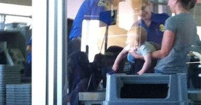 TSA defends frisking of baby at KC airport